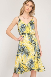 Bio Yellow Leaf Dress - Product Mini Image