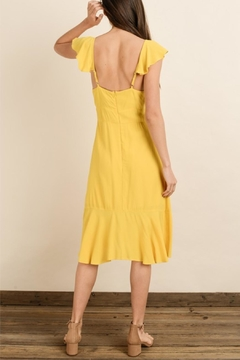 dress forum Yellow Midi Dress - Alternate List Image