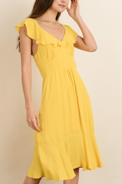 dress forum Yellow Midi Dress - Product List Image