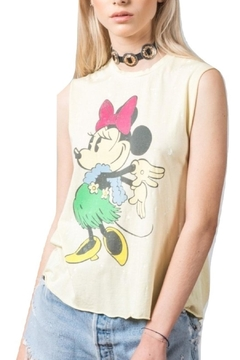 Recycled Karma Yellow Minnie Tank - Product List Image