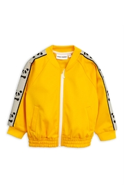 Mini Rodini Yellow Panda Jacket - Front cropped