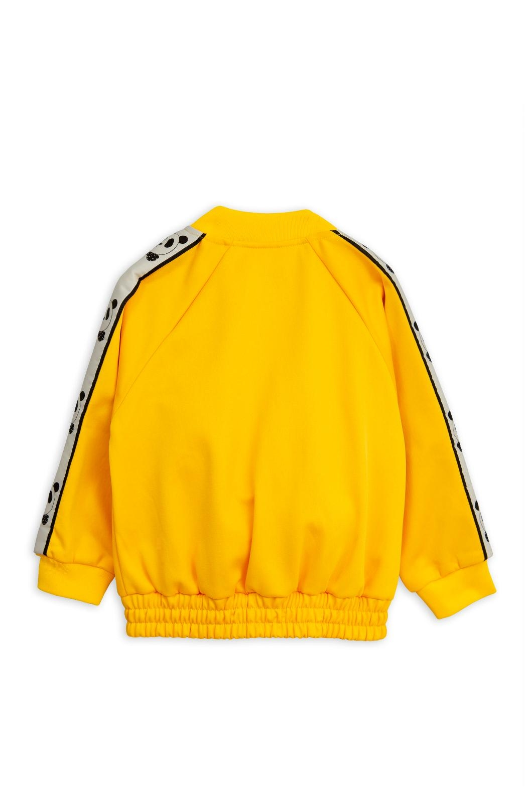 Mini Rodini Yellow Panda Jacket - Front Full Image