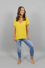 Piko  Yellow T-Shirt - Front cropped
