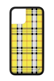 Wildflower Cases Yellow Plaid iPhone 11 Pro Case - Product Mini Image