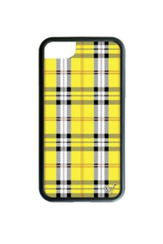Wildflower Cases Yellow Plaid iPhone 6/7/8 Case - Product Mini Image