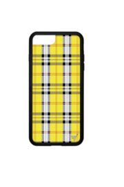 Wildflower Cases Yellow Plaid iPhone 6+/7+/8+ Plus Case - Product Mini Image