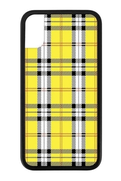 Wildflower Cases Yellow Plaid iPhone Xr Case - Alternate List Image
