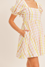Mable Yellow Plaid Mini - Other