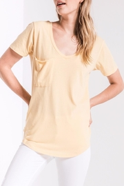 z supply Yellow Pocket Tee - Product Mini Image