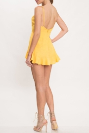 Latiste Yellow Romper - Front full body