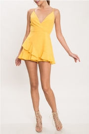 L'atiste Yellow Shift Romper - Product Mini Image