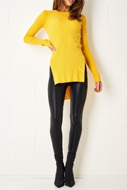 frontrow Yellow Side-Split Jumper - Product Mini Image