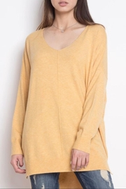 Dreamers Yellow Soft Sweater - Product Mini Image
