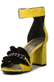 Le DangeRouge Yellow Suede Sandals - Product Mini Image