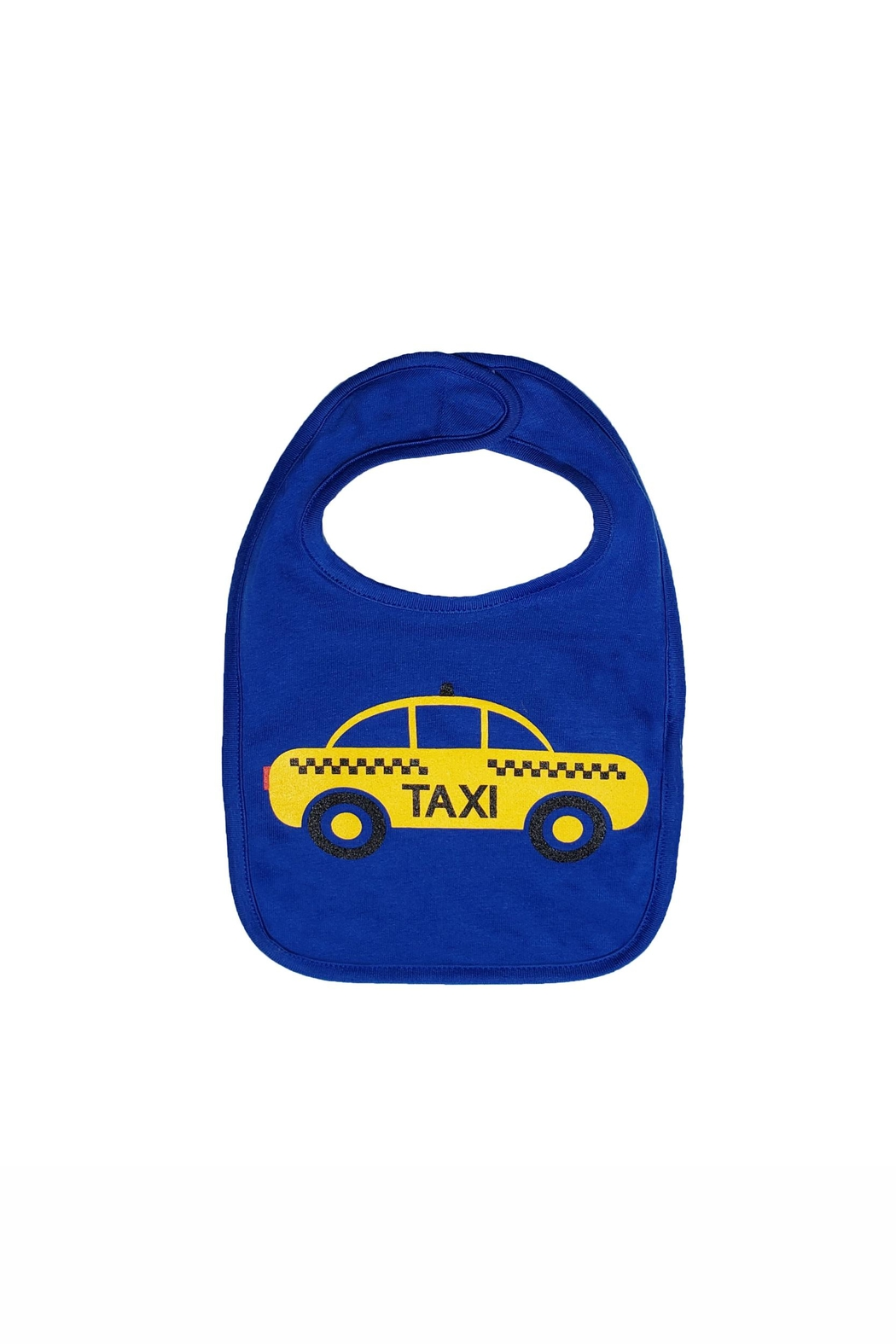 BEVA Yellow Taxi Bib - Front Cropped Image