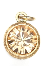 Beaucoup Designs Yellow Topaz Charm - Front cropped