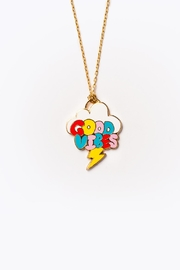 Yellow Owl Workshop Good Vibes Necklace - Product Mini Image