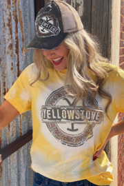 shop my boutique  Yellowstone Tye Die T - Front cropped