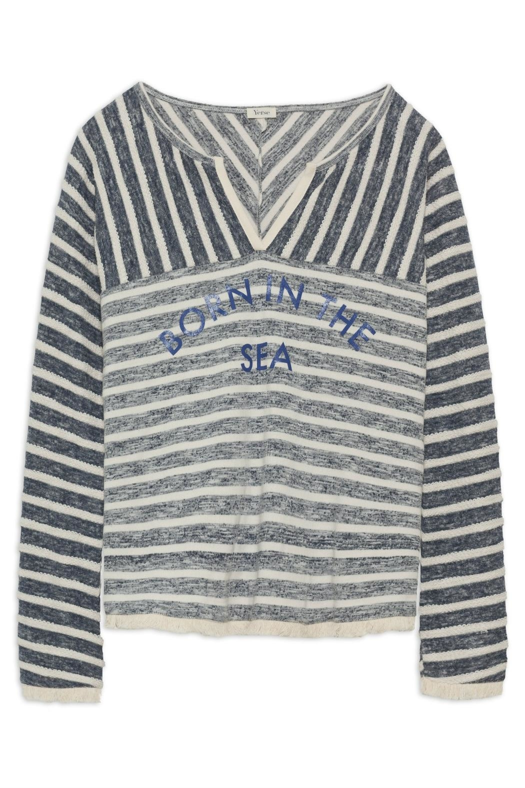 Yerse Nautical Pull-Over - Front Full Image