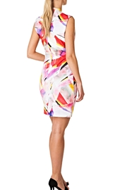 Colletta Abstract Colors Dress - Front full body
