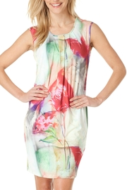Yest Abstract Floral Dress - Product Mini Image