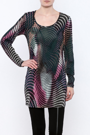 Yest Abstract Tunic - Product Mini Image