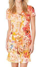 Yest Apricot Mesh Dress - Product Mini Image