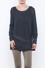 Yest Asymmetrical Knit Tunic - Front cropped