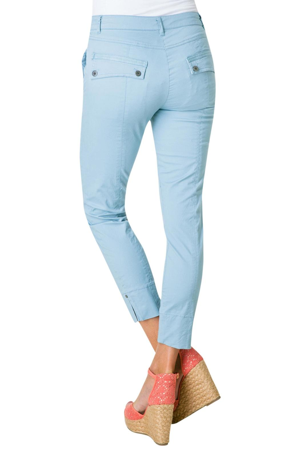 Yest Baby Blue Pants - Front Full Image