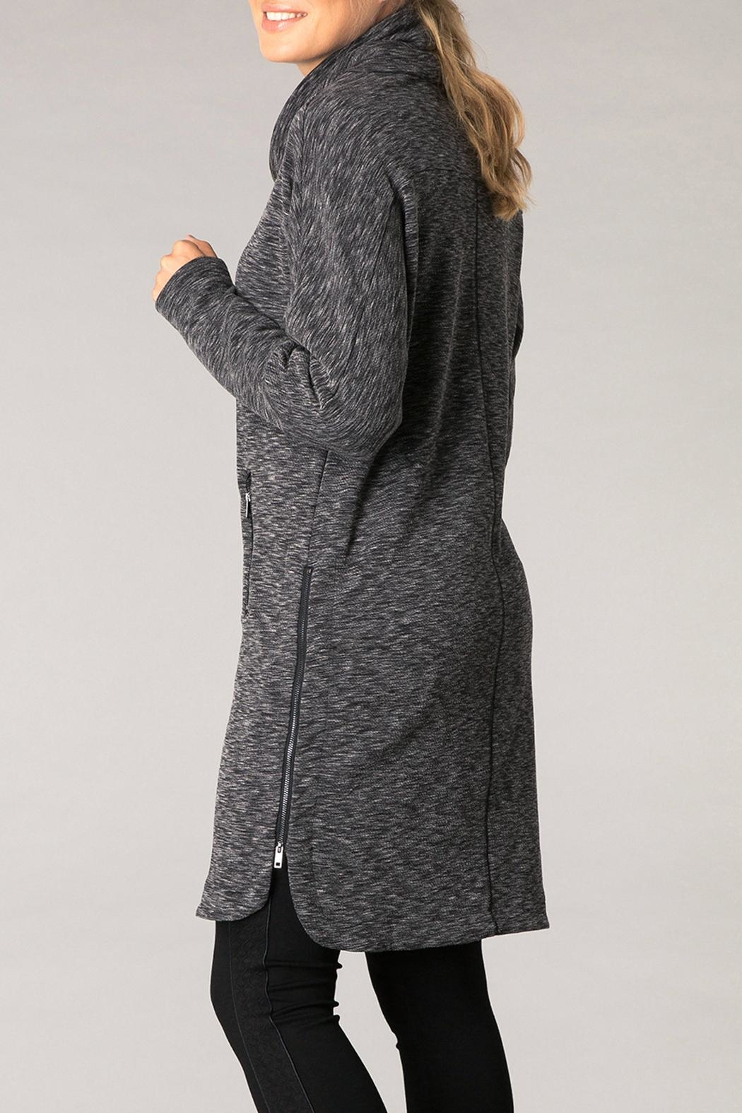 Yest Black Comfy Tunic - Front Full Image