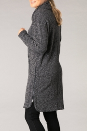 Yest Black Comfy Tunic - Front full body