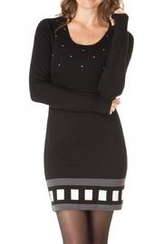 Yest Black Sweater Dress - Product Mini Image