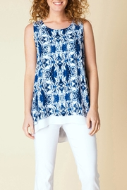 Yest Blissfully Blue Tunic Top - Product Mini Image