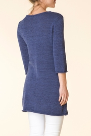 Yest Blue Knit Tunic - Side cropped