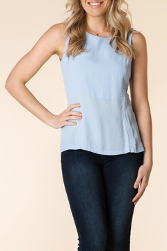 Yest Blue Sleeveless Blouse - Product List Image