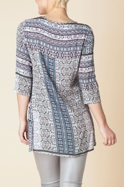 Yest Borderline Prarie Tunic Top - Front full body