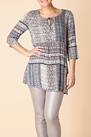 Yest Borderline Prarie Tunic Top - Front cropped