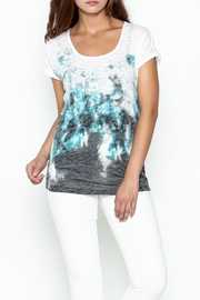 Yest Burnout Print  Tee - Product Mini Image