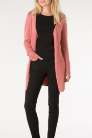 Yest Button Front Cardigan - Front cropped