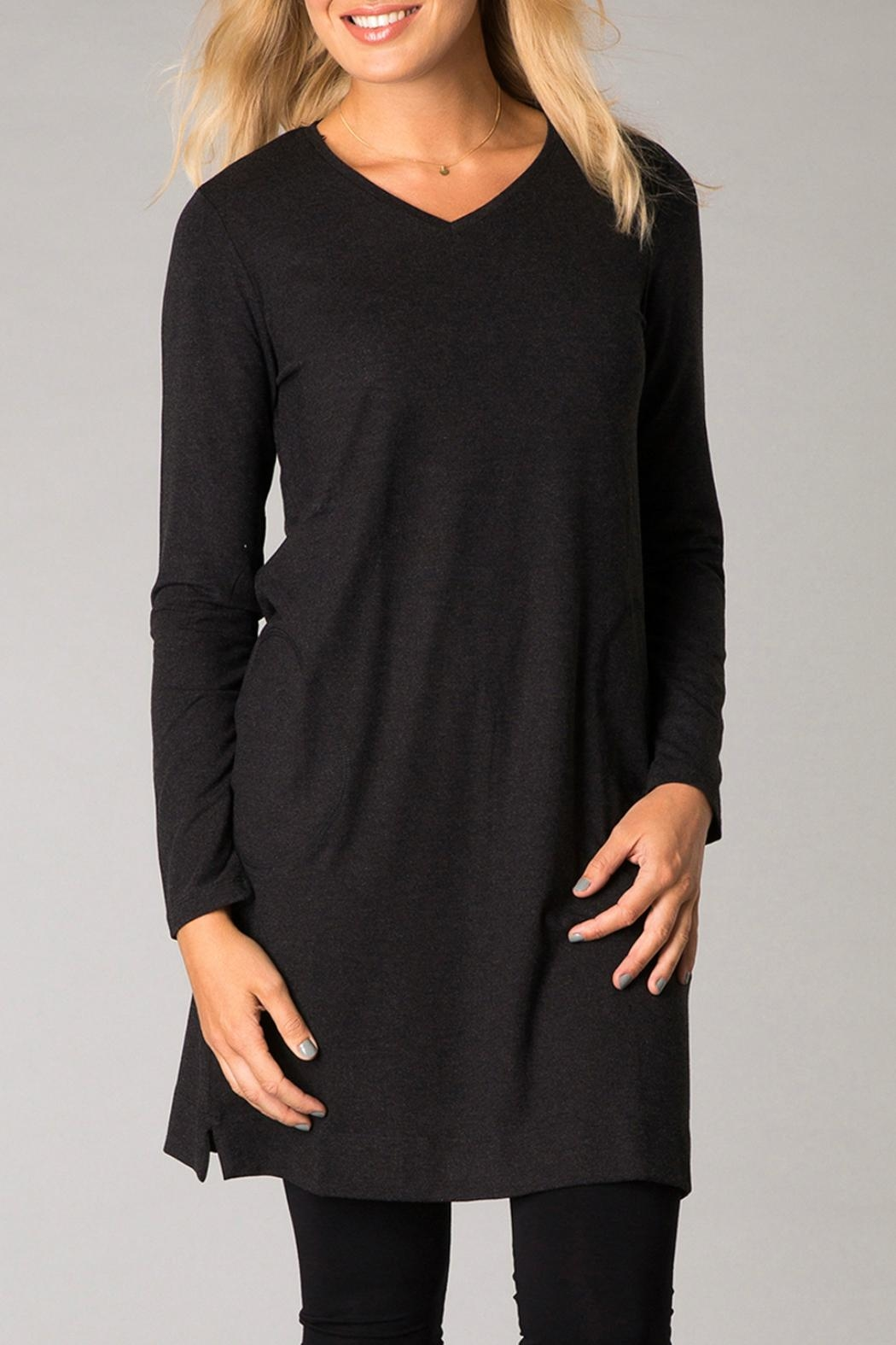 Yest Casual Tunic Dress - Front Cropped Image
