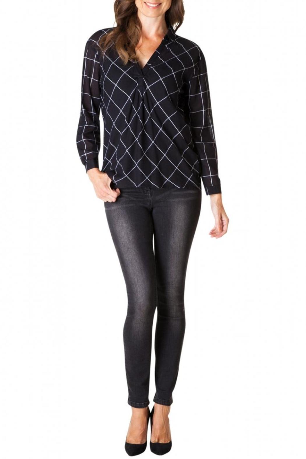 Yest Checkered Blouse - Main Image