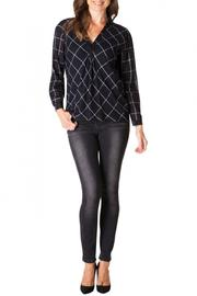 Yest Checkered Blouse - Product Mini Image