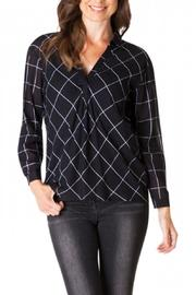Yest Checkered Blouse - Side cropped