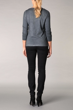 Yest Cotton Charcoal Top - Alternate List Image
