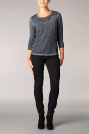 Yest Cotton Charcoal Top - Product Mini Image
