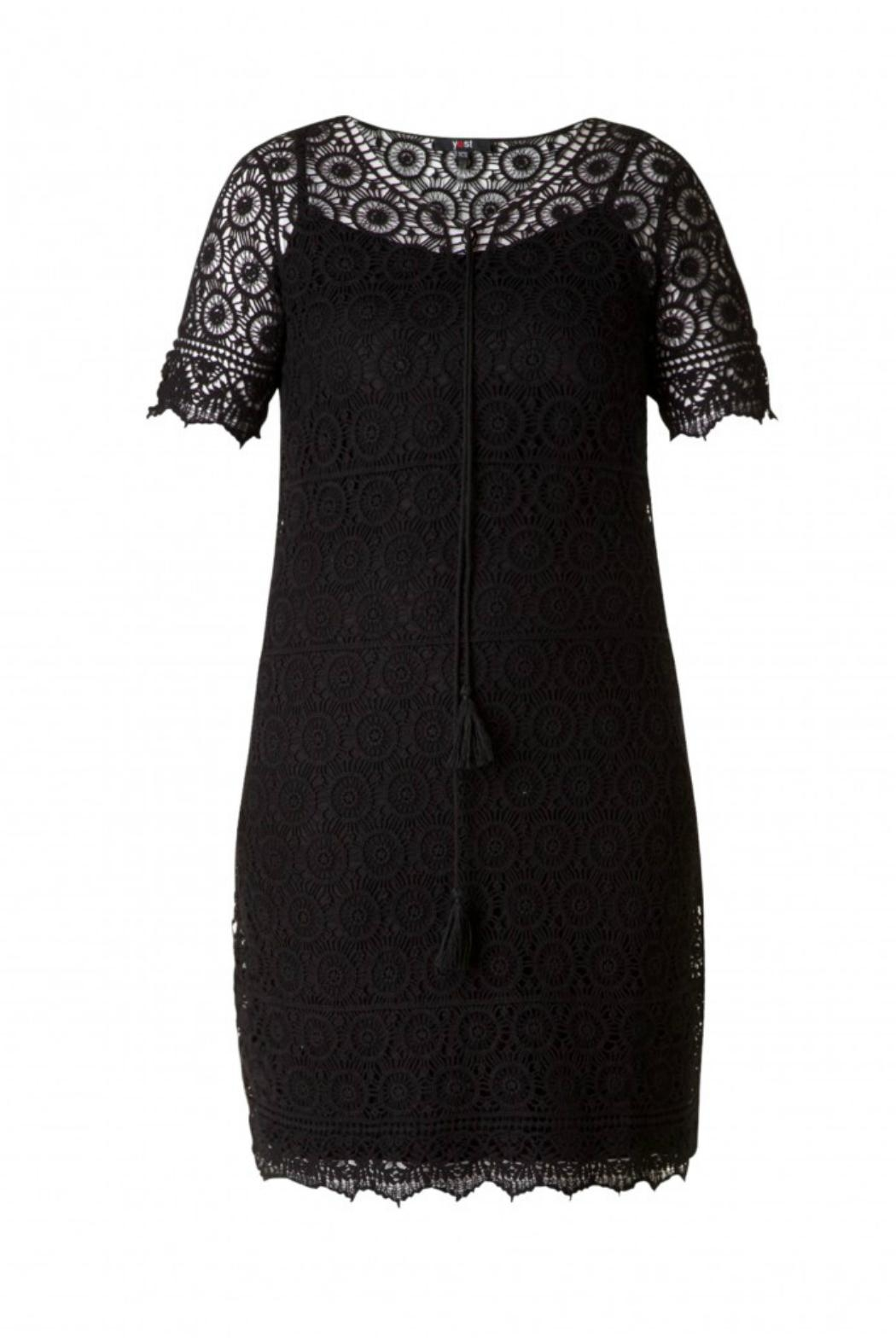 Yest Cotton Embroidered Dress - Front Cropped Image