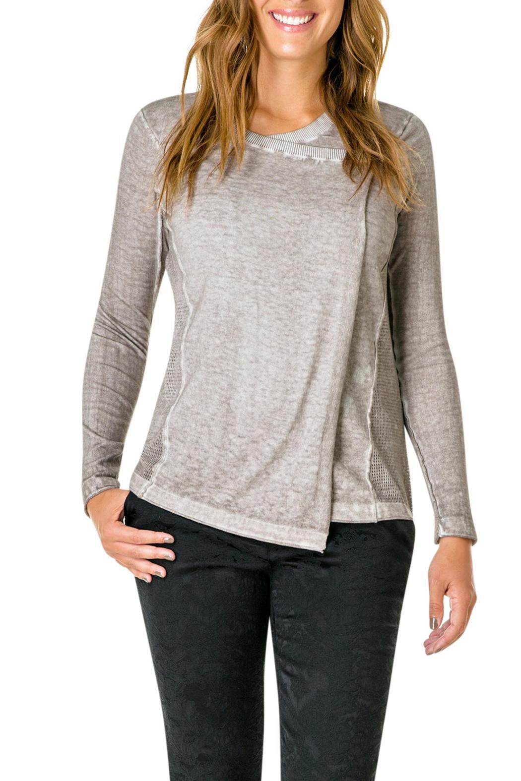 Yest Shoulder Button Sweater from Washington by Gracie's — Shoptiques
