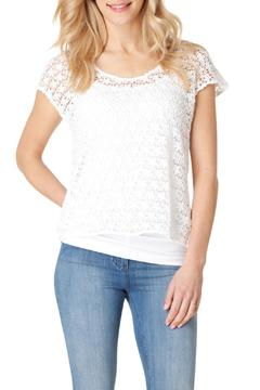 Shoptiques Product: Crochet Lined Top