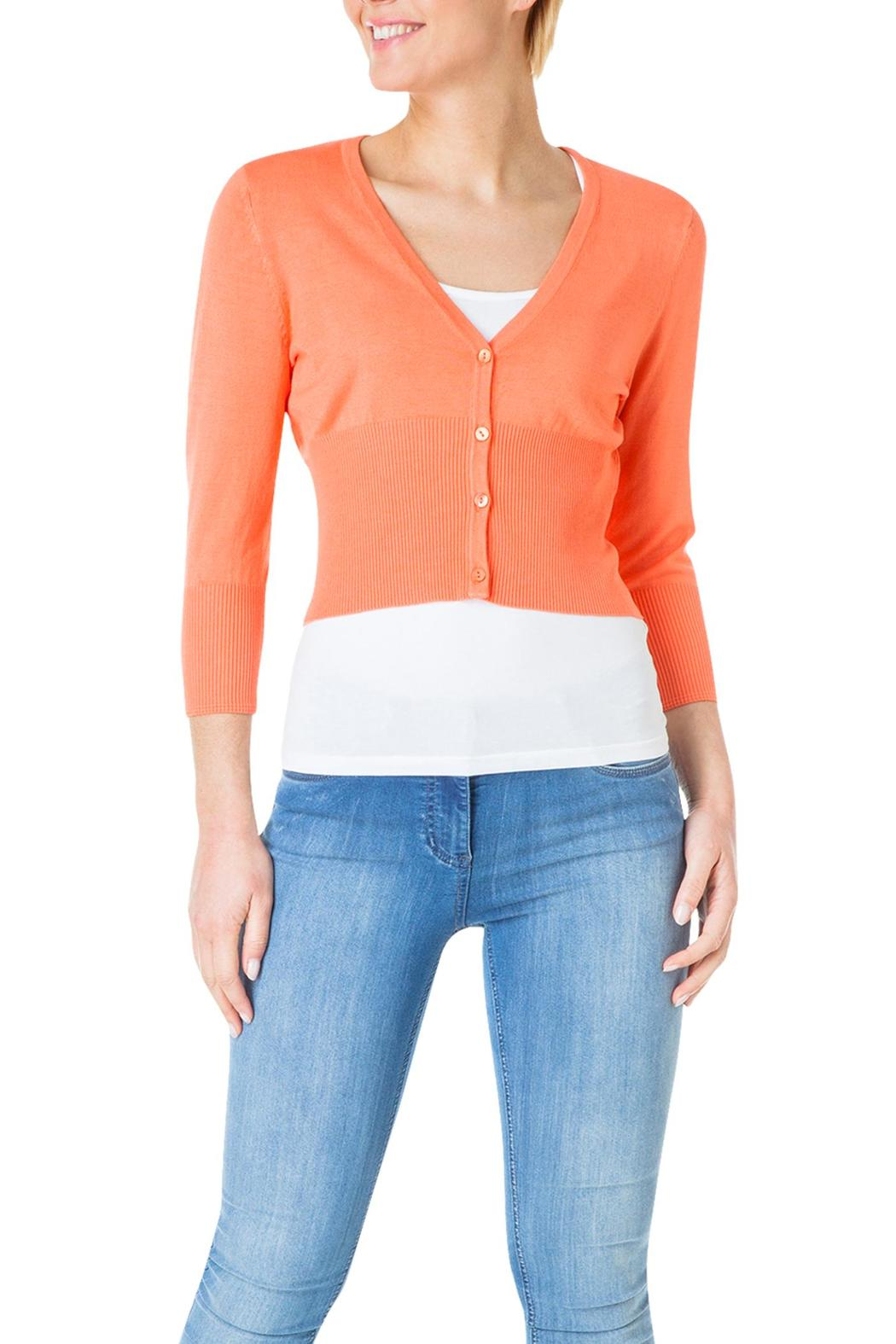 Yest Cropped Cardigan Sweater from Washington by Gracie's — Shoptiques