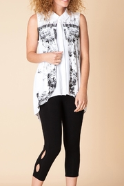Yest Double Layer Sleeveless Blouse - Product Mini Image